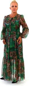 Sukienka Roxana - sukienki maxi z długim rękawem w stylu boho