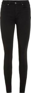 Czarne jeansy Vero Moda w stylu casual