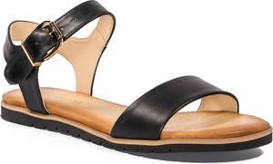 Czarne sandały Nescior