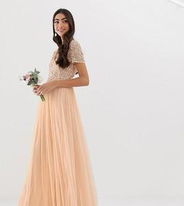 Różowa sukienka Maya Tall maxi