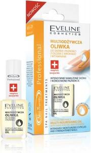 Eveline Nail Therapy Lakier odżywka oliwka do paznokci 12 ml