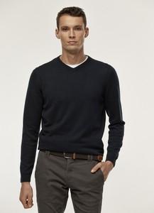 Granatowy sweter Pako Lorente