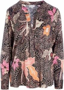 Bluzka Dea Kudibal w stylu casual z dekoltem w kształcie litery v
