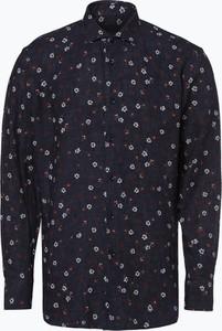 Koszula Van Graaf z lnu z długim rękawem w młodzieżowym stylu