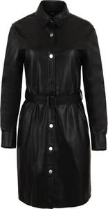 Sukienka Karl Lagerfeld w stylu casual mini z kołnierzykiem