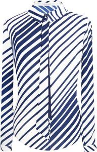 Koszula Prettyone ze sznurowanym dekoltem z długim rękawem
