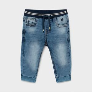 Granatowe jeansy dziecięce Mayoral