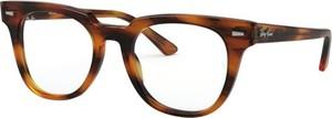 Pomarańczowe okulary damskie Ray-Ban
