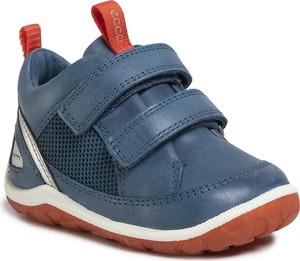 Buty dziecięce zimowe Ecco ze skóry