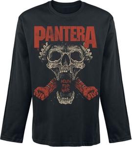 Koszulka z długim rękawem Pantera z nadrukiem z długim rękawem