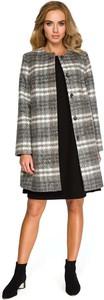 Płaszcz MOE z wełny w stylu casual