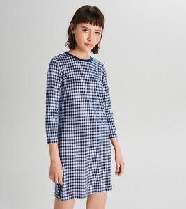 Niebieska sukienka Cropp mini