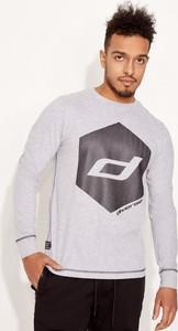Koszulka z długim rękawem Diverse z nadrukiem
