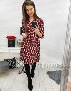 13f175d509 Sukienka Dstreet z długim rękawem z dekoltem w kształcie litery v
