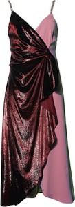 Sukienka Pinko asymetryczna na ramiączkach