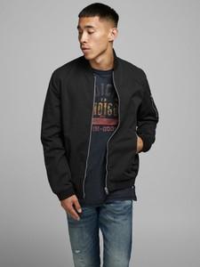 Czarna kurtka WARESHOP w stylu casual