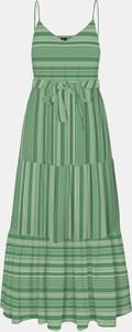 Zielona sukienka Vero Moda maxi