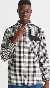 Koszula Reserved z długim rękawem z klasycznym kołnierzykiem