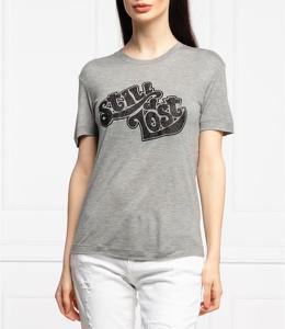 T-shirt Emporio Armani z bawełny z krótkim rękawem w młodzieżowym stylu