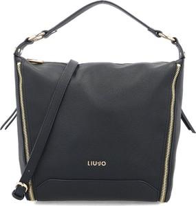 Czarna torebka Liu-Jo duża na ramię