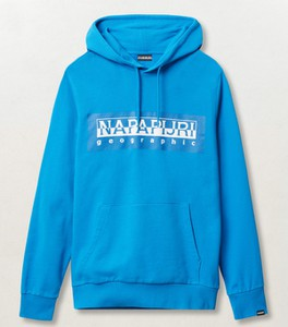 Niebieska bluza Napapijri w sportowym stylu