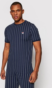T-shirt Fila w sportowym stylu z krótkim rękawem
