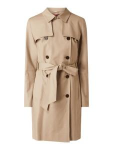 Płaszcz Hugo Boss z bawełny