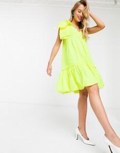 Żółta sukienka Essentiel Antwerp mini bombka