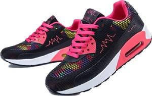 Buty sportowe Yaze na koturnie sznurowane