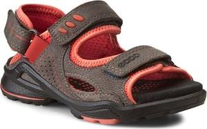 Szare buty dziecięce letnie ecco