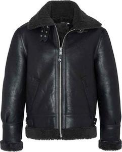 Czarna kurtka Schott NYC krótka