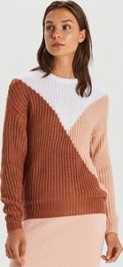 Pomarańczowy sweter Cropp