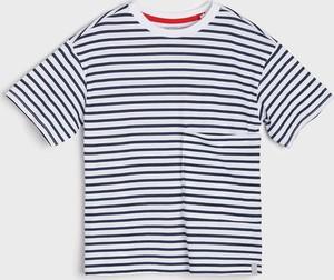 Koszulka dziecięca Sinsay z krótkim rękawem z bawełny