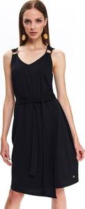 Sukienka Top Secret z dekoltem w kształcie litery v mini w stylu casual