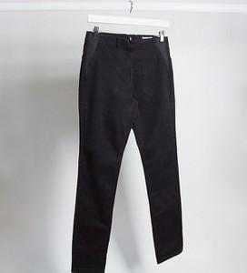 Mama Licious Mamalicious – Czarne zapinane na zamek jeansy o podwyższonym stanie odpowiednie na okres połogu-Czarny