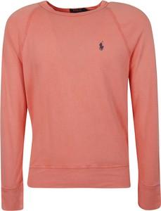 Różowa bluza Ralph Lauren z bawełny