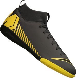 Buty sportowe dziecięce Nike z tkaniny sznurowane