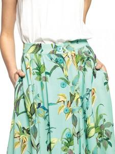 Zielona spódnica L'AF w stylu casual