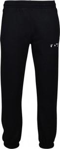 Czarne spodnie Off White w sportowym stylu
