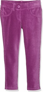 Różowe spodnie dziecięce United Colors Of Benetton