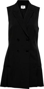 Czarna sukienka Only bez rękawów mini