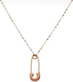 Lovrin Złoty naszyjnik 585 łańcuszek z agrafką 5,05g różowe złoto