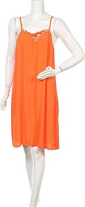 Pomarańczowa sukienka Rockmans mini
