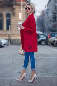 Płaszcz Ivet.pl w stylu casual
