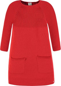 Czerwona sukienka dziewczęca Königsmühle z bawełny