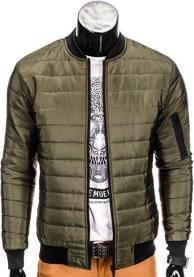 Ombre clothing kurtka c195 - khaki