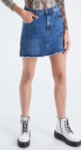 Niebieska spódnica Cropp mini