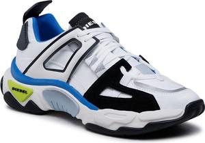 Buty sportowe Diesel sznurowane w sportowym stylu