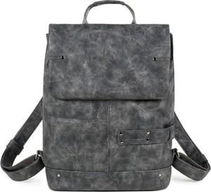 Czarny plecak Zwei ze skóry