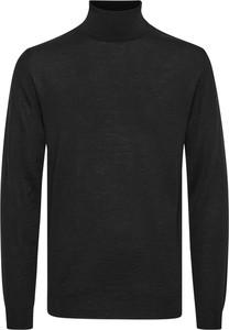 Sweter Matinique z golfem z wełny